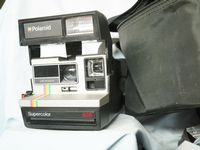 Polaroid 635 Camera Cased Uses 600  Film -Nice Outfit - Film Tested